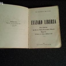 Libros: EUSKERA LABORTANO. LIBROS EN LENGUA VASCA. DEVOCIONARIO.. Lote 124390231