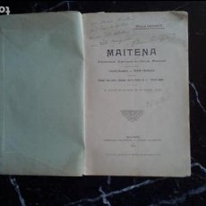 Libros: EUSKERA. LITERATURA VASCA.PASTORAL SULETINA.. Lote 128155199