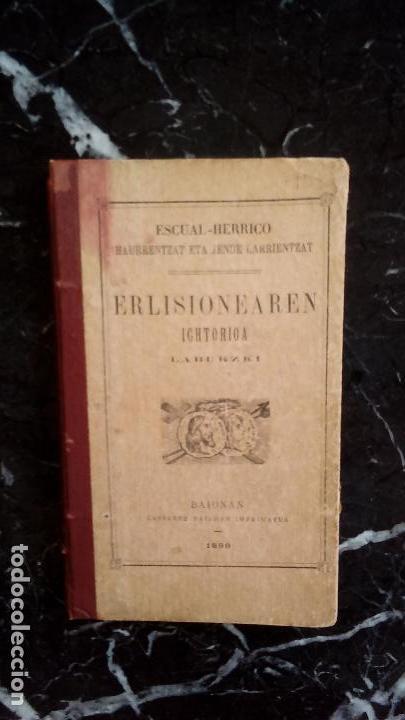 BREVE HISTORIA DE LA RELIGIÓN EN EUSKERA LABORTANO. (Libros Nuevos - Otras lenguas locales - Euskera)