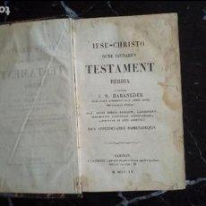 Libros: EUSKERA. EUSKERA LABORTANO. LIBROS EN LENGUA VASCA. EL NUEVO TESTAMENTO EN EUSKERA.. Lote 128155963