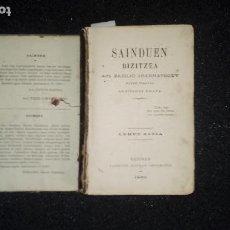 Libros: EUSKERA. LITERATURA VASCA.. Lote 123311847