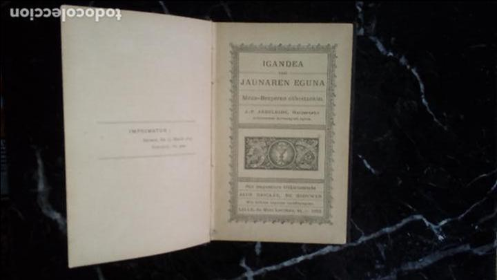 EUSKERA. LIBROS EN LENGUA VASCA. CLÁSICO LABORTANO. (Libros Nuevos - Otras lenguas locales - Euskera)