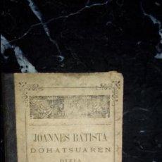 Libros: EUSKERA. LIBROS EN LENGUA VASCA. CLÁSICO LABORTANO.. Lote 129311007