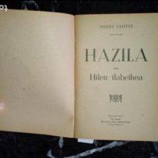 Libros: EUSKERA. LIBROS EN LENGUA VASCA.. Lote 129311235
