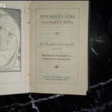 Libros: EUSKERA. LIBROS EN LENGUA VASCA. ESCRITOR NAVARRO DE LA ULTZAMA. Lote 129311431