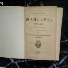 Libros: EUSKERA. LIBROS EN LENGUA VASCA. CLÁSICO LABORTANO.. Lote 129311643