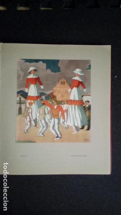 Libros: Espel y Uranga. El Pais vasco. Aguafuertes. grabados, mucha ilustración. Tradiciones Vascas. - Foto 8 - 152915050
