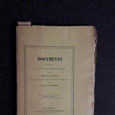 Libros: VINSON. DOCUMENTOS PARA LA HISTORIA DEL EUSKERA. LENGUA VASCA.. Lote 154094510