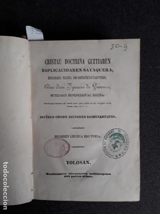 GUERRICO. CRISTAU DOCTRIÑA GUZTIAREN ESPLICACIOAREN SAYAQUERA, …BUEN EUSKERA GUIPUZCOANO. (Libros Nuevos - Otras lenguas locales - Euskera)