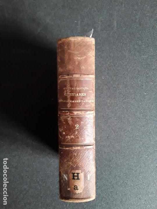 Libros: Guerrico. Cristau Doctriña Guztiaren esplicacioaren sayaquera, …Buen euskera guipuzcoano. - Foto 2 - 159825586