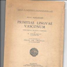 Libros: EL EUSKERA EN EL SIGLO XVI. Lote 176512362