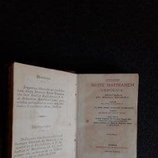 Libros: MENDIBURU. CLÁSICO EUSKALDUN. EUSKERA. DEVOCIONARIO. DIALECTO ALTO-NAVARRO SEPTENTRIONAL.. Lote 185779525