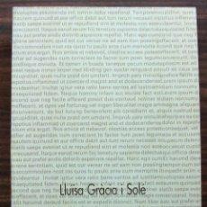 Libros: LA TEORIA TEMATICA. LLÏSA GRACIA I SOLE. 1989. Lote 119872447