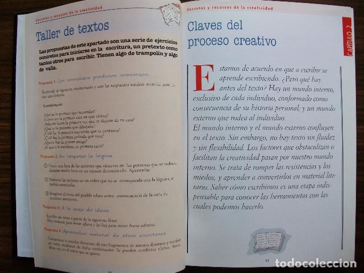 Bücher: TALLER DE ESCRITURA SALVAT (SECRETOS Y RECURSOS DE LA CREATIVIDAD TOMO I y II.) - Foto 3 - 131912834