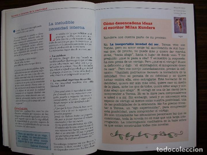 Bücher: TALLER DE ESCRITURA SALVAT (SECRETOS Y RECURSOS DE LA CREATIVIDAD TOMO I y II.) - Foto 6 - 131912834