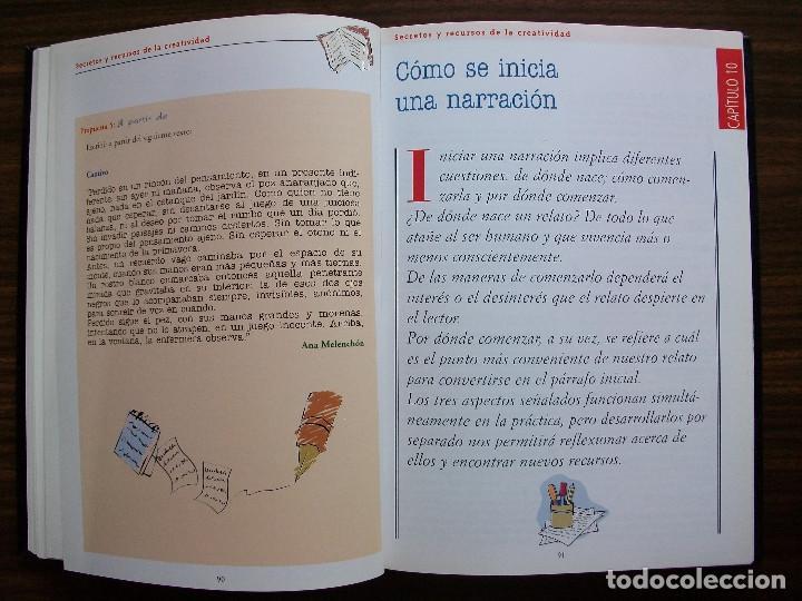 Bücher: TALLER DE ESCRITURA SALVAT (SECRETOS Y RECURSOS DE LA CREATIVIDAD TOMO I y II.) - Foto 7 - 131912834