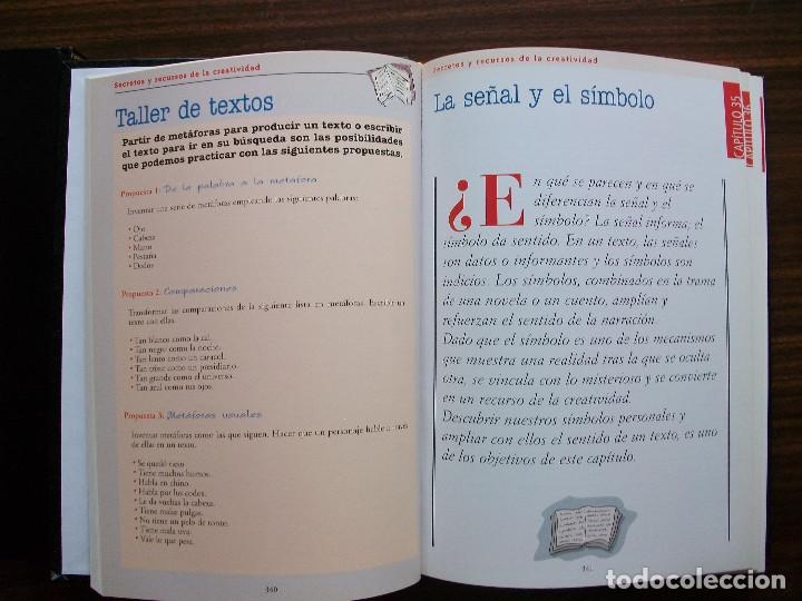 Bücher: TALLER DE ESCRITURA SALVAT (SECRETOS Y RECURSOS DE LA CREATIVIDAD TOMO I y II.) - Foto 10 - 131912834