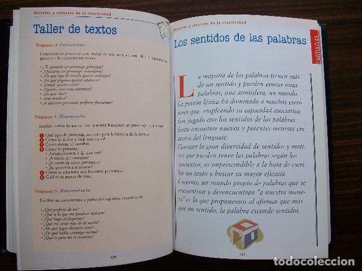 Bücher: TALLER DE ESCRITURA SALVAT (SECRETOS Y RECURSOS DE LA CREATIVIDAD TOMO I y II.) - Foto 11 - 131912834