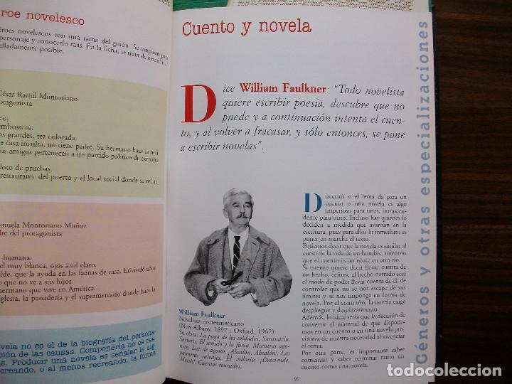 Libros: TALLER DE ESCRITURA SALVAT (GENEROS Y OTRAS ESPECIALIZACIONES.) - Foto 9 - 180960841