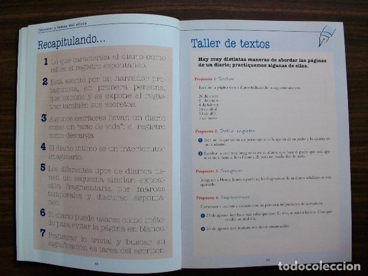 Bücher: TALLER DE ESCRITURA SALVAT (TECNICAS Y TEMAS DEL OFICIO. TOMO I y II.) - Foto 5 - 131913886