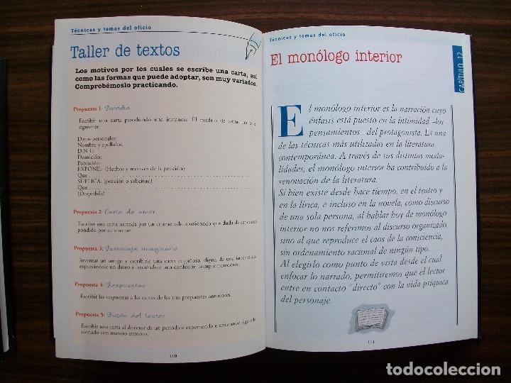 Bücher: TALLER DE ESCRITURA SALVAT (TECNICAS Y TEMAS DEL OFICIO. TOMO I y II.) - Foto 7 - 131913886