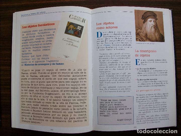 Bücher: TALLER DE ESCRITURA SALVAT (TECNICAS Y TEMAS DEL OFICIO. TOMO I y II.) - Foto 8 - 131913886