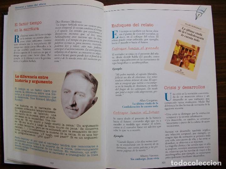 Bücher: TALLER DE ESCRITURA SALVAT (TECNICAS Y TEMAS DEL OFICIO. TOMO I y II.) - Foto 10 - 131913886