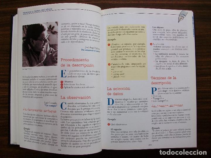 Bücher: TALLER DE ESCRITURA SALVAT (TECNICAS Y TEMAS DEL OFICIO. TOMO I y II.) - Foto 11 - 131913886