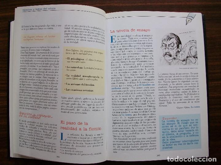 Bücher: TALLER DE ESCRITURA SALVAT (TECNICAS Y TEMAS DEL OFICIO. TOMO I y II.) - Foto 12 - 131913886