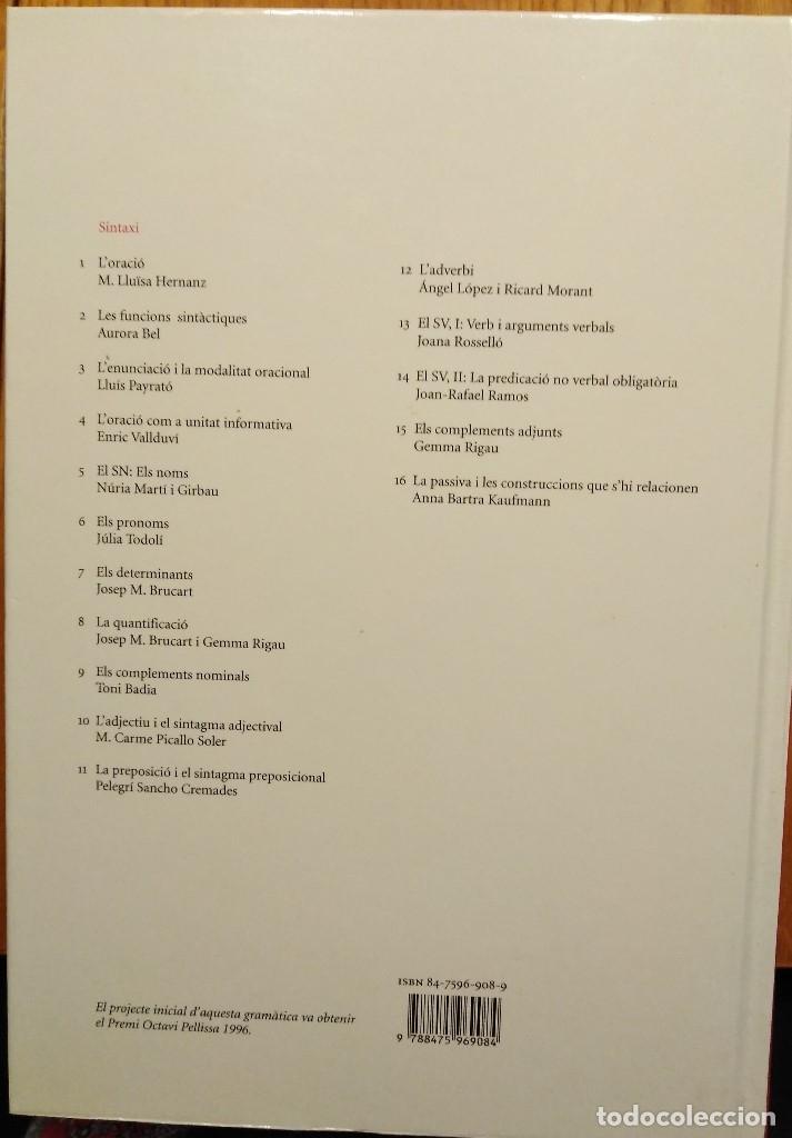 Libros: Gramàtica del català contemporani (dirigida per Joan Solà) - Foto 5 - 132035810