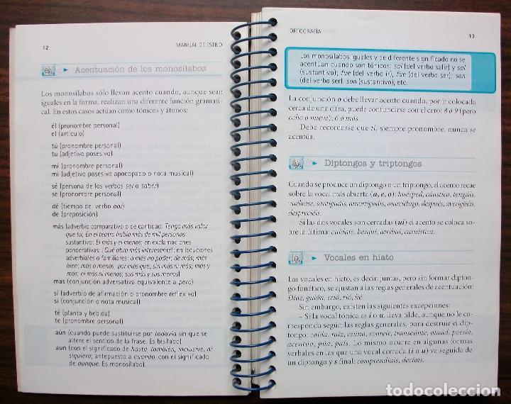 Libros: MANUAL DE ESTILO. GUIA PRACTICA PARA ESCRIBIR MEJOR. ARTURO RAMONEDA. - Foto 2 - 137183566