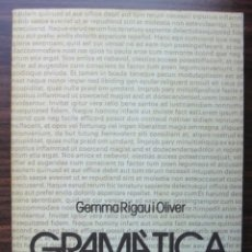 Libros: GRAMATICA DEL DISCURS. GEMMA RIGAU I OLIVER.. Lote 204547982