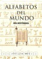 Libros: PÓSTER ALFABETOS DEL MUNDO, ÁREA MEDITARRÁNEA - Foto 4 - 144393950
