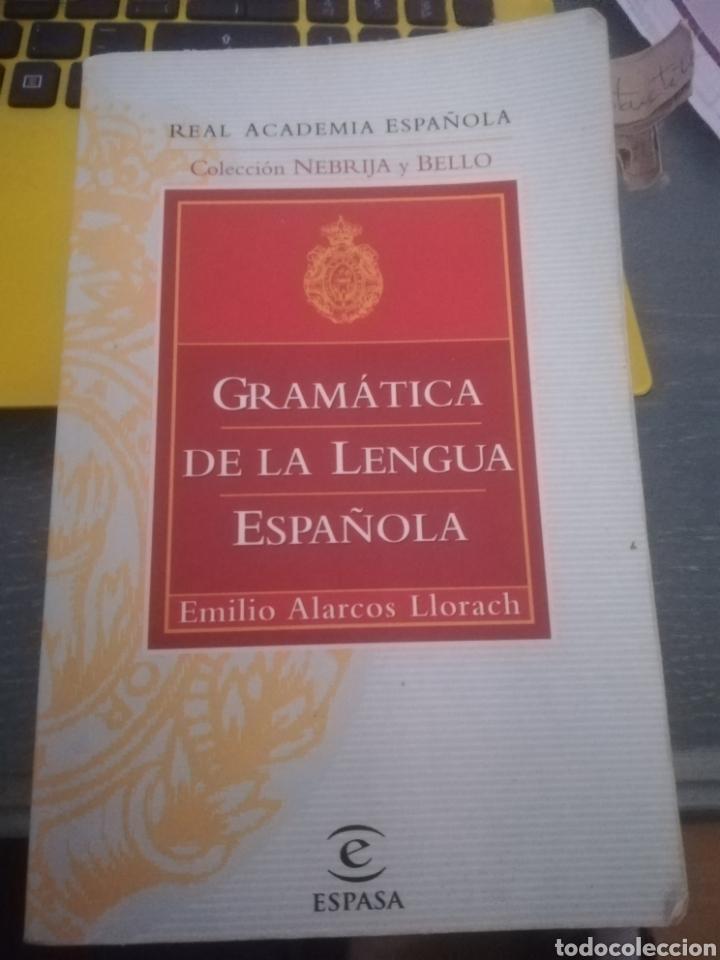 GRAMÁTICA DE LA LENGUA ESPAÑOLA (Libros Nuevos - Humanidades - Filología)