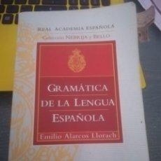 Libros: GRAMÁTICA DE LA LENGUA ESPAÑOLA. Lote 145625861