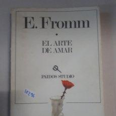 Libros: EL ARTE DE AMAR. Lote 150909586