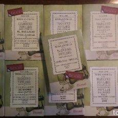 Libros: 11 LIBROS RELATIVOS AL FOLCLORE ESPAÑOL. TRADICIONES ESPAÑOLAS. ANTONIO MACHADO Y ÁLVAREZ, DEMÓFILO. Lote 151595054