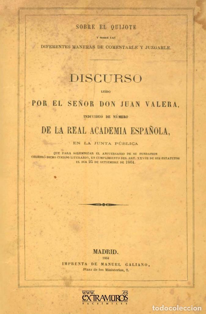 Libros: 12 libros facsímiles relativos a EL QUIJOTE DE LA MANCHA y Miguel de Cervantes. Sancho Panza - Foto 2 - 152287594