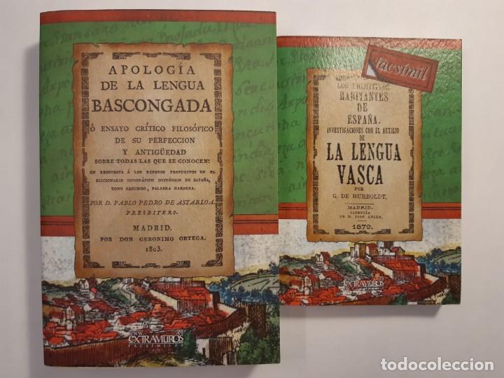 HISTORIA DE LA LENGUA VASCA. EUSKERA VASCO VASCUENCE EUSKADI EUSKAL HERRÍA ORIGEN DEL IDIOMA (Libros Nuevos - Humanidades - Filología)