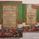 Libros: HISTORIA DE LA LENGUA VASCA. EUSKERA VASCO VASCUENCE EUSKADI EUSKAL HERRÍA ORIGEN DEL IDIOMA. Lote 152748878