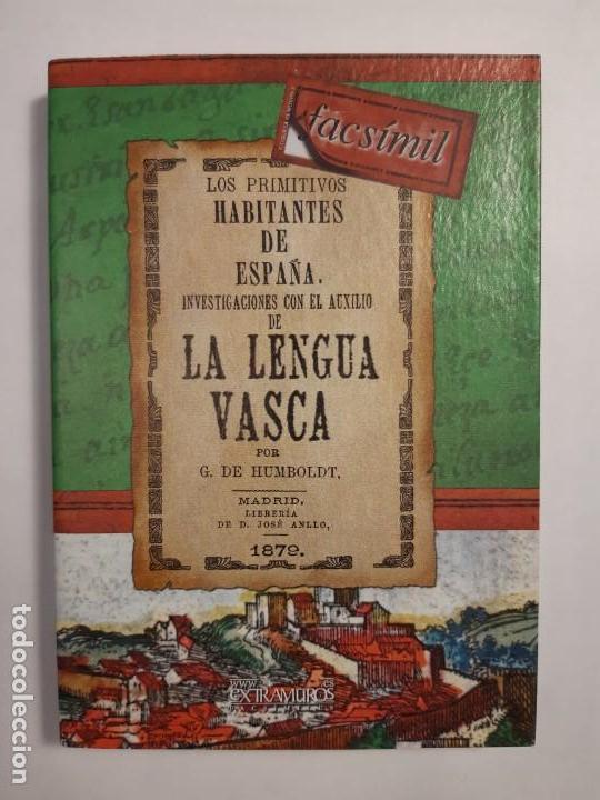 Libros: Historia de la LENGUA VASCA. Euskera Vasco Vascuence Euskadi Euskal Herría Origen del idioma - Foto 2 - 220889971