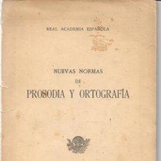 Libros: 1952. REAL ACADEMIA ESPAÑOLA. ORTOGRAFÍA. Lote 172169502