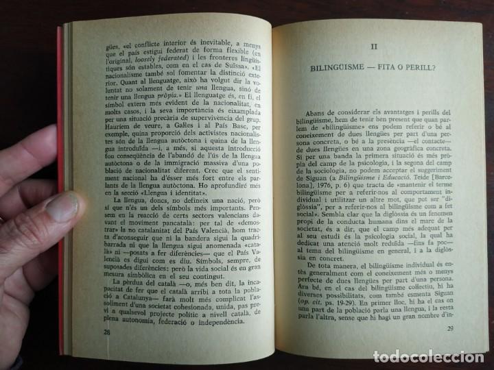 Libros: Llengua i població a Catalunya de Miquel Strubell i Trueta. anàlisi actual de la llengua catalana - Foto 3 - 183496777