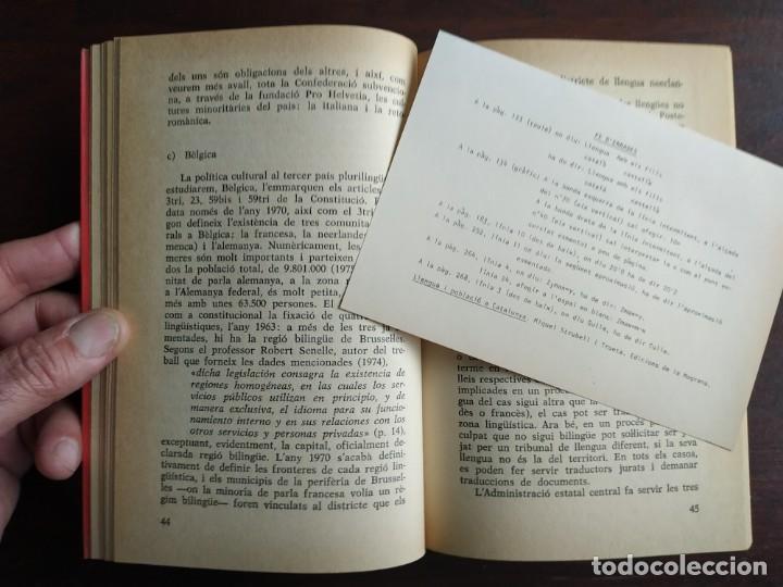 Libros: Llengua i població a Catalunya de Miquel Strubell i Trueta. anàlisi actual de la llengua catalana - Foto 4 - 183496777