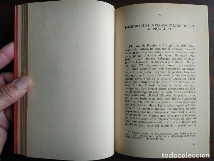 Libros: Llengua i població a Catalunya de Miquel Strubell i Trueta. anàlisi actual de la llengua catalana - Foto 5 - 183496777