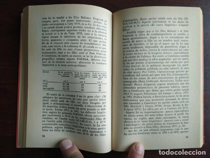 Libros: Llengua i població a Catalunya de Miquel Strubell i Trueta. anàlisi actual de la llengua catalana - Foto 6 - 183496777