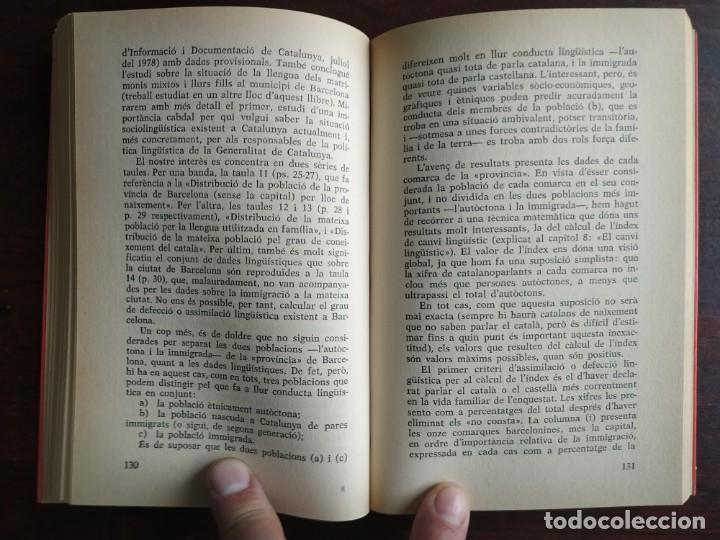 Libros: Llengua i població a Catalunya de Miquel Strubell i Trueta. anàlisi actual de la llengua catalana - Foto 7 - 183496777