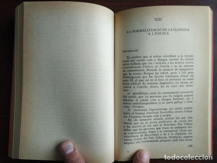 Libros: Llengua i població a Catalunya de Miquel Strubell i Trueta. anàlisi actual de la llengua catalana - Foto 10 - 183496777