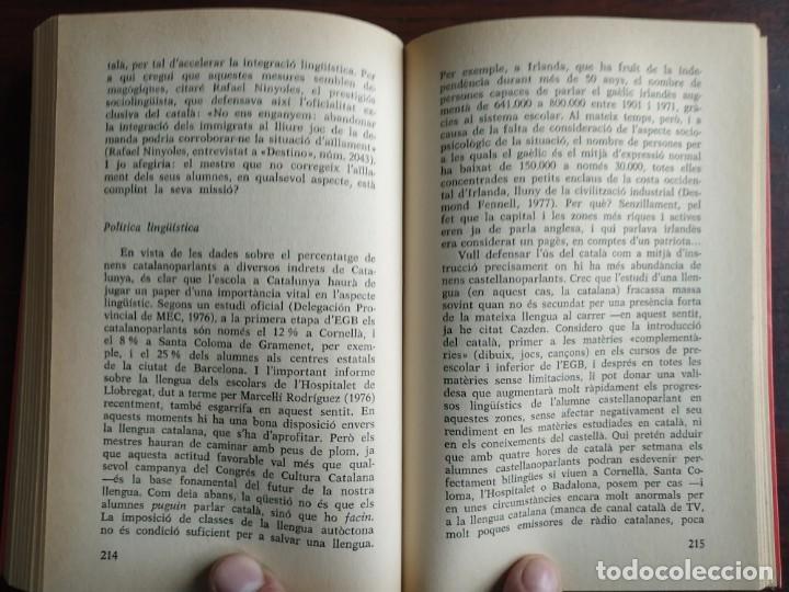 Libros: Llengua i població a Catalunya de Miquel Strubell i Trueta. anàlisi actual de la llengua catalana - Foto 11 - 183496777