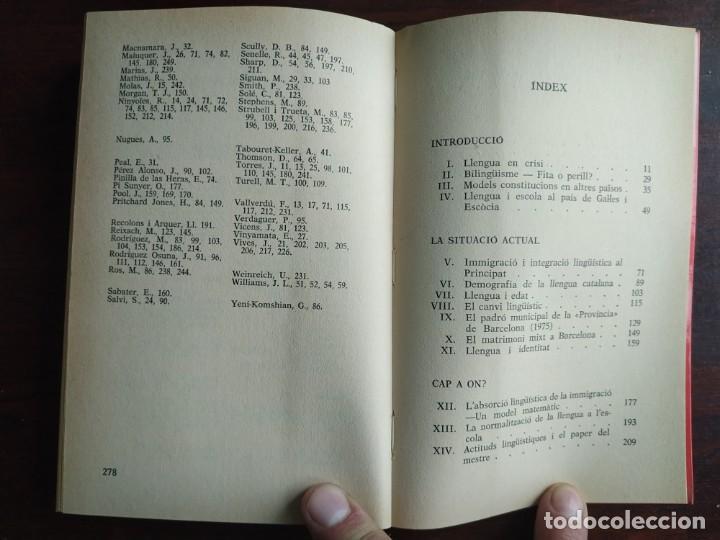 Libros: Llengua i població a Catalunya de Miquel Strubell i Trueta. anàlisi actual de la llengua catalana - Foto 14 - 183496777